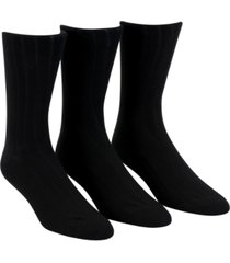 calvin klein men's 3-pack soft touch ribbed socks