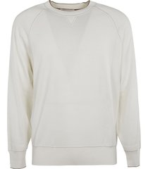 brunello cucinelli ribbed plain sweatshirt