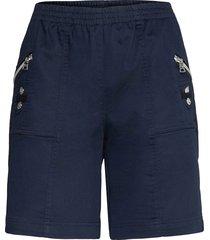 sc-akila shorts flowy shorts/casual shorts blå soyaconcept