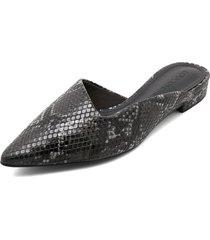 slipper negro-gris loucos&santos