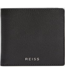 reiss cabot - leather wallet in black, mens