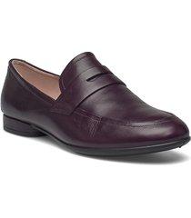 anine loafers låga skor brun ecco