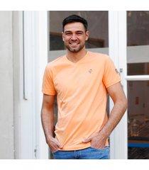 q1905 t-shirt zandvoort abrikoos