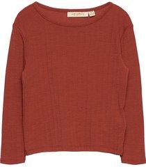 bella t-shirt t-shirts long-sleeved t-shirts orange soft gallery