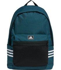 mochila azul adidas classic 3 tiras 27,5l