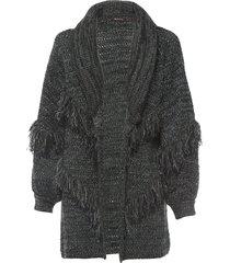 casaco feminino tricot forest - verde