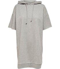 sweatshirtklänning onldreamer life hood sweat dress