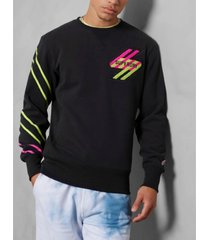 superdry men's sport-style energy crew sweatshirt