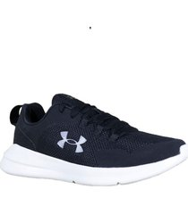 zapatilla negra under armour essential