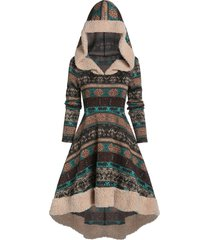 fit and flare elephant high low dress