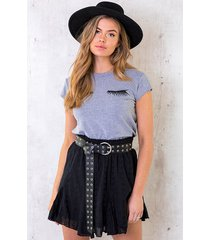 eyelash top grey