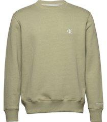 ck essential reg cn sweat-shirt trui groen calvin klein jeans
