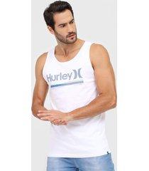regata hurley alkaline branca - branco - masculino - dafiti