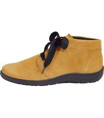 skor av mjukt skinn naturläufer gul
