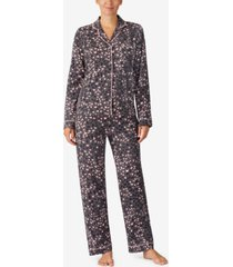 cuddl duds printed pajama set