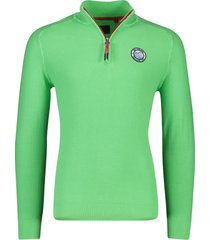 new zealand pullover percy lime green