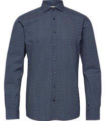 bs andrew skjorta business blå bruun & stengade