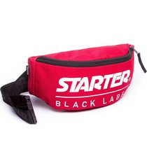 bolsa starter pochete black label vermelha vermelho