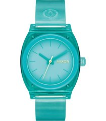 reloj medium time teller turquesa nixon