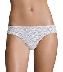 patterned bikini bottom