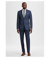 reserve collection slim fit plaid men's suit by jos. a. bank