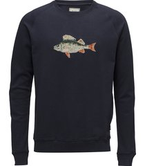 bait sweatshirt sweat-shirt trui blauw forét