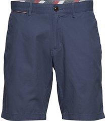 brooklyn short light twill shorts chinos shorts blå tommy hilfiger