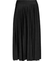 skirts knitted knälång kjol svart esprit collection