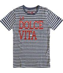 la dolce vita striped t-shirt - fiat® special edition