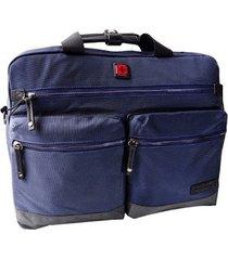 maletin para laptop swissbrand melbourne-azul