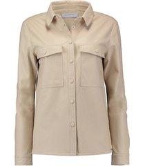 blouse lave 750 off white
