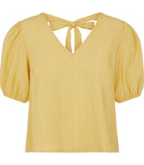 blouse yasmina geel