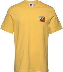 diag emb tee t-shirts short-sleeved gul adidas originals