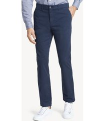 tommy hilfiger men's slim fit essential stretch chino sky captain - 34/34