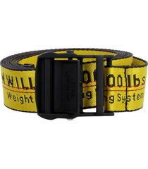 off-white industrial fabric belt