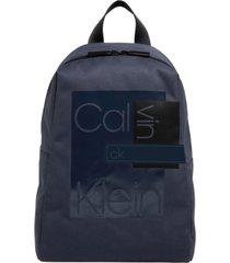 bolso  layered  round backpack calvin klein