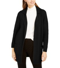 style & co petite oversized patch-pocket cardigan, created for macy's