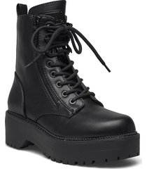 tayte2 shoes boots ankle boots ankle boot - flat svart guess
