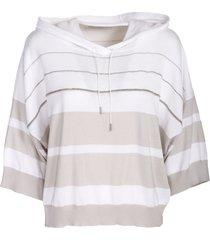 fabiana filippi organic cotton hoodie