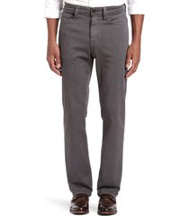 men's 34 heritage charisma relaxed fit jeans, size 38 x 32 - grey