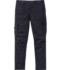 pantaloni cargo termici con teflon loose fit straight (grigio) - bpc selection