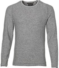 no excess pullover - modern fit - grijs