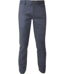 pantalón gabardina spandex frente plano slim fit potros