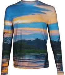 camisa manga larga cuyabeno steam beachwear