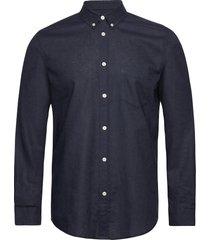 liam ba shirt 6971 overhemd casual blauw samsøe samsøe
