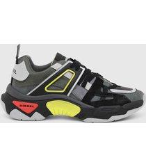 zapatilla kipper low trek sneakers negro diesel
