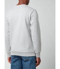 a.p.c. x gimme five men's mika sweatshirt - heathered grey - xl
