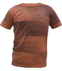 camiseta fila shine coral hombre