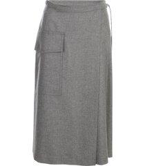 aspesi longuette skirt