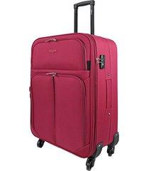 "maleta tipo cabina speed 21"" rojo - explora"
